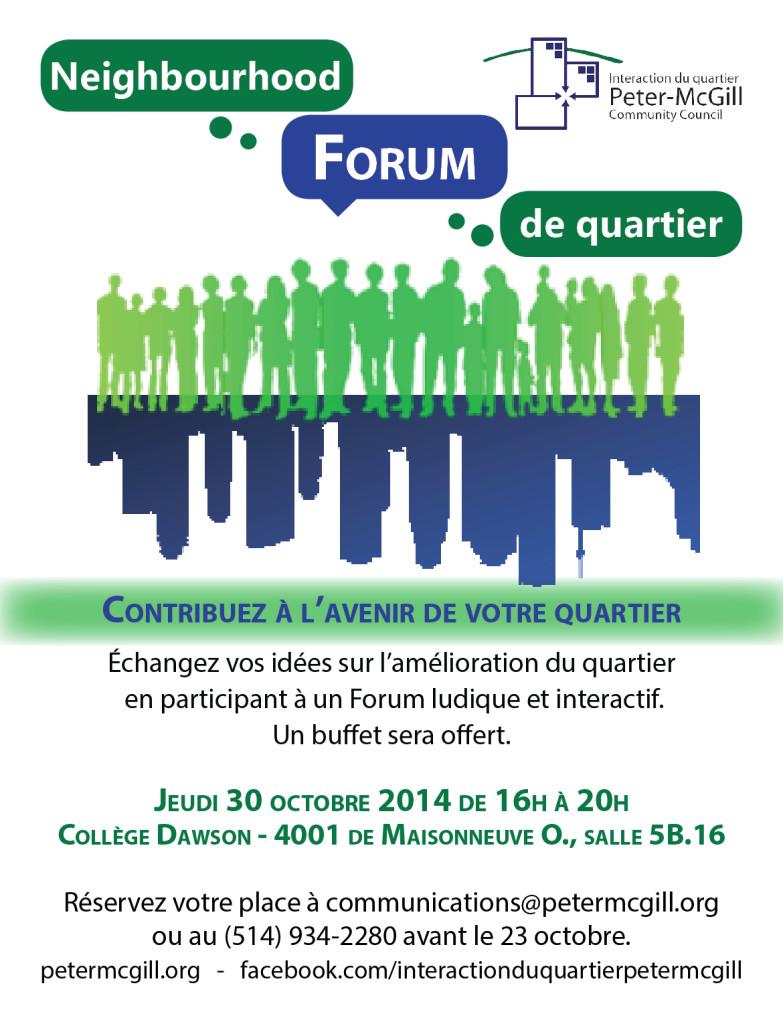 Forum de quartier FR